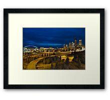 Bridge Light Framed Print