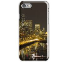 Life at Night iPhone Case/Skin