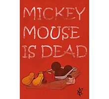 Mickey Mouse Trap Photographic Print