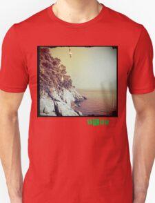 Free - T.shirt green caption T-Shirt