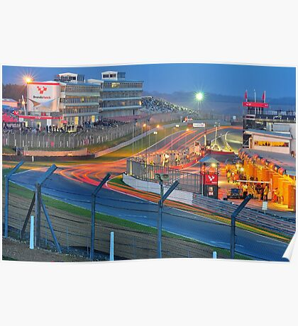Brands Hatch Race Into The Night Poster