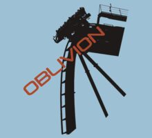 Oblivion - Alton towers One Piece - Short Sleeve