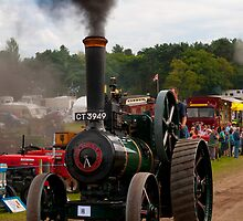 Ruston Proctor Traction Engine by David J Knight