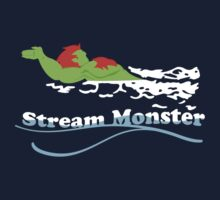 Stream Monster One Piece - Short Sleeve