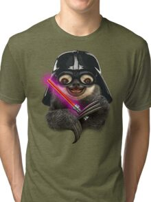 DARTH SLOTH Tri-blend T-Shirt