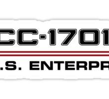 ST Registry Series - Enterprise-E Logo Sticker