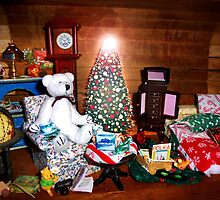 Rupert Reconsiders Spending Christmas Night Alone by Nadya Johnson