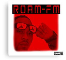 "Roam FM ""Sex Noises"" Album Cover Canvas Print"