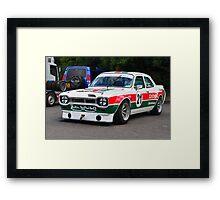 Mk1 Escort ZAKSPEED Framed Print