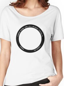 WEAR YOUR PASSION: 18-55mm Women's Relaxed Fit T-Shirt