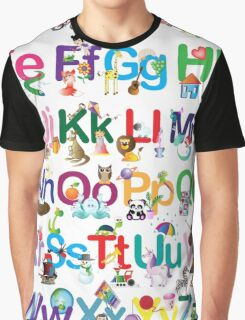 Alphabet for kids Graphic T-Shirt