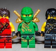 Ninjago Guys by garykaz