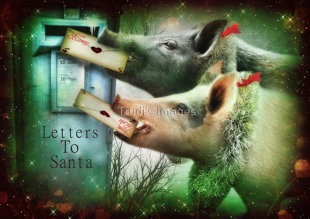 Letters To Santa by Trudi's Images