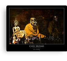 Chiang Dao Monks Canvas Print