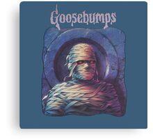 goosebumps series book Canvas Print