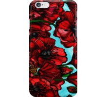 Poppies in bloom iPhone Case/Skin