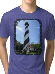 St. Augustine Lighthouse ~ 1874 Tri-blend T-Shirt