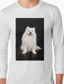 White Dog Long Sleeve T-Shirt