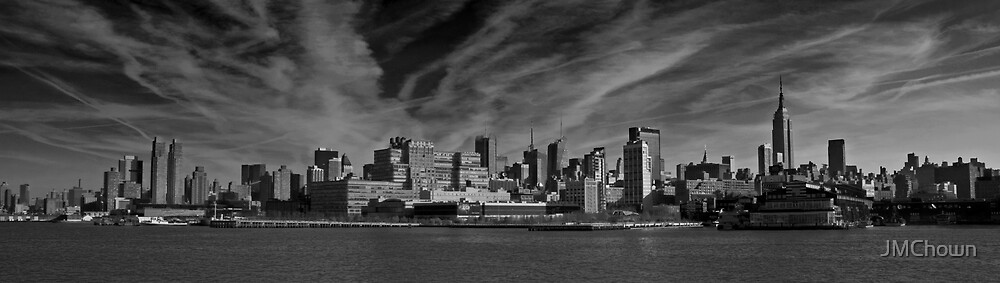 Manhattan Skyline by JMChown
