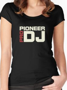 Pioneer Dj Pro Women's Fitted Scoop T-Shirt
