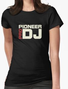 Pioneer Dj Pro Womens Fitted T-Shirt