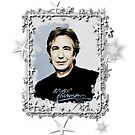 "Alan Rickman Fandesign ""Starshine"" by scatharis"