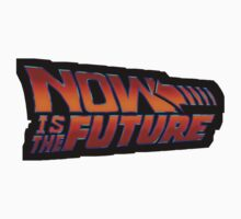 NOW IS THE FUTURE - Logo 21/Oct/2015 Kids Tee