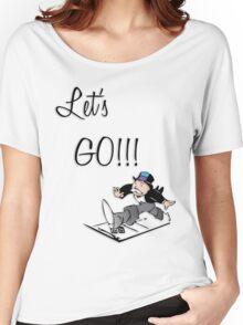 Let's Go!!! Women's Relaxed Fit T-Shirt