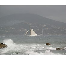 LA REGATA E' PARTITA MA ...ARRIVA LA TEMPESTA !!! GIRAGLIA ROLEXS.REMO -S.TROPEZ..4000 VISUALIZZA.2013 -----  FEATURED IN RB EXPLORE 18 DICEMBRE 2011....      . Photographic Print