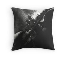 Rusty Trains Throw Pillow