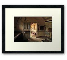 The Utility Room Framed Print