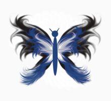 Stylized Butterfly 2 Baby Tee