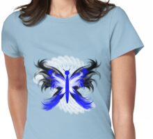 Stylized Butterfly 2 Womens Fitted T-Shirt