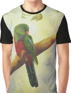 King Parrot,  Killarney country Qld Australia. Graphic T-Shirt