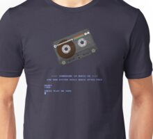 Commodore 64 Cassette Tape Loading... Unisex T-Shirt