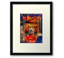 Warrior of Love Framed Print