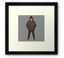 NOW IS THE FUTURE - Marty Mcfly 1885 Framed Print