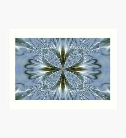 December Blue Art Print