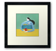 Sea Shirt Framed Print