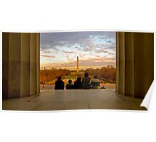 From Lincoln to Washington Poster