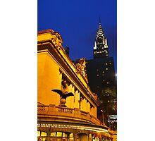 Grand Central Station & Chrysler Photographic Print