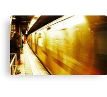 New York Metro Canvas Print