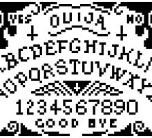 Pixel Ouija II by Samantha Lusher