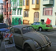 VW Beetle San Francisco by CraMation