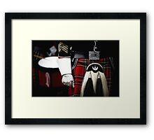 Band Master Framed Print