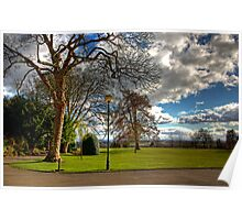 A corner of Pittencrieff Park Poster