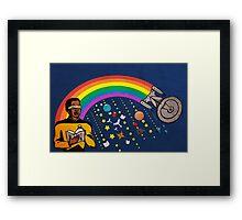 A Trek Anywhere Framed Print