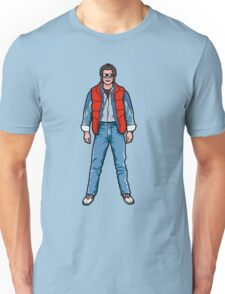 NOW IS THE FUTURE - Marty Mcfly 1985 Unisex T-Shirt