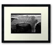 dopey shots Framed Print