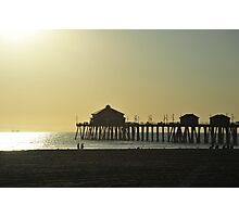 The Pier in sunset Photographic Print